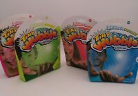 Tiny Wubble Wobble Bubble Ball - Blue Green Red Pink - Color Set Lot of 4 NEW