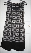 Crew Neck Formal Geometric Petite Dresses for Women