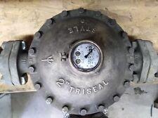 "Neptune Trident Vintage Brass 2"" Water Meter"