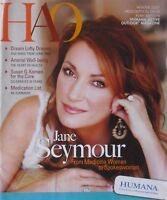 JANE SEYMOUR Winter 2007 HUMANA ACTIVE OUTLOOK Magazine