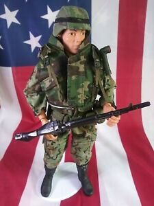 "GI JOE HASBRO 12"" US SOLDIER COMPLETE ACTION FIGURE VINTAGE"