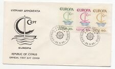 1966 CYPRUS First Day Cover EUROPA ISSUES Kibris