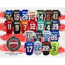 Philadelphia Eagles Gold Rush Football Jersey 1Box! Break #4