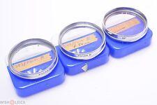 VOIGTLANDER FOCAR A, B & SKYLIGHT FILTER 54MM FOR SEPTON 50MM MACRO, CLOSE-UP