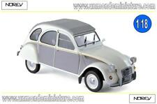 Citroën 2CV Dolly 1985 Meije White & Cormoran Grey NOREV  - NO 181494 - Ech 1/18