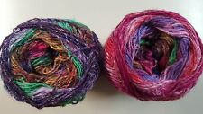 Noro Silk Garden Sock Yarn #S415 Peach Pink Purple Green Tan 100g