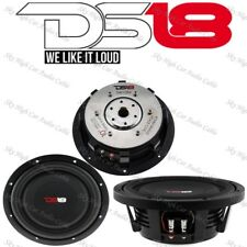 """DS18 SW10S4 10"""" Shallow Mount Truck Subwoofer 1000W Max SVC 4 ohm (1 Speaker)"""