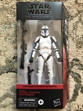 NEW Hasbro Star Wars Black Series Clone Trooper Lieutenant AOTC IN HAND