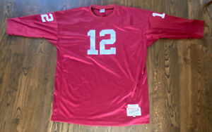Joe Namath Adidas True School Authentics 1964 Alabama Jersey Size 60 - 4XL