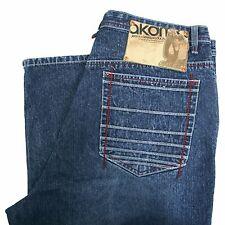 Akademiks Jeans 40 Men's Baggy Loose Hip Hop Size 40x35