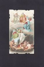 SANTA LEGA EUCARISTICA n° 9020 - ANIME PURGANTI - SANTINO HOLY CARD IMMAGINETTA