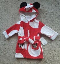 New listing Infant Disney Mini Mouse Bath And Swim Robe Sz 6-9M * Nwt *