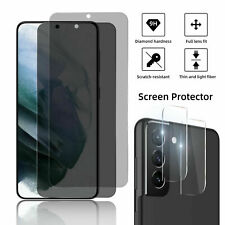Anti-Spy Privacy Glass Screen Protector For Samsung Galaxy S21/Note 20 Ultra/S20