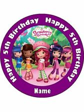 STRAWBERRY SHORTCAKE 19CM KOPYKAKE EDIBLE ICING IMAGE CAKE TOPPER #1