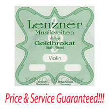 Lenzner Goldbrokat Violin E String 4/4 Ball Extra Thick