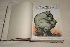 (E2A) Reliure Le Rire 1907 en partie Voir descriptif