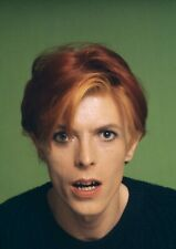 """Reproduction """"David Bowie - Colour"""" Poster, Home Wall Art, Vintage Print"""