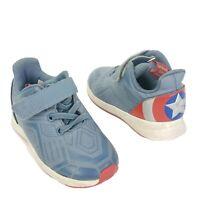 adidas Marvel Captain America Running Avengers Super Hero Shoes Toddler Size 7.5
