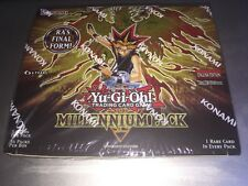 Millennium Pack Booster Box Konami Factory Sealed 36 Packs MIL1-EN 1st Edition