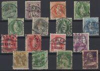 AV142343/ SWITZERLAND – YEARS 1867 - 1920 USED CLASSIC LOT