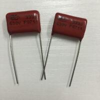 10PCS CBB21 333J 630V 0.033UF 33NF P15 Metallized Film Capacitor