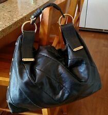 Juicy Couture Hobo bag, black Leather