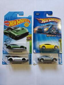 Hotwheels Aston Martin Vulcan 007 DB10 V8 Vantage First Editions Lot of 4