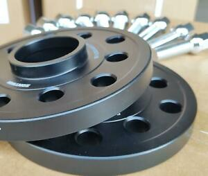 VW Volkswagen Audi Alloy Wheel Spacers Spacer Kit 5x100/112 57.1 15mm + OE Bolts