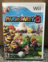 Mario Party 8 (Nintendo Wii, 2007) - Complete in Case w/manual - Tested Working