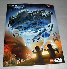 Lego Star Wars Toys R Us Millennium Falcon Kylo Ren Master Your Force DS Poster