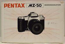 Pentax MZ-50 Manual German - 2/1997