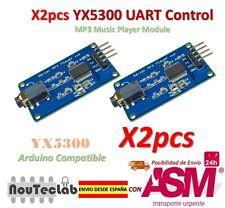 2pcs YX5300 UART Control Serial Module MP3 Music Player Module