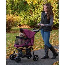 Pet Gear Happy Trails Lite No-Zip Pet Stroller, Boysenberry Pg8030Nzbb New