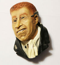 Vintage Bossons Uriah Heep Chalkware Head 5 inches Congleton England
