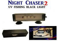 NIGHT CHASER 9 WATT BLACK LIGHT POWERFUL LED BOAT FISHING UV ULTRAVIOLET 12v 24v