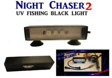NIGHT CHASER 9 WATT BLACK LIGHT POWERFUL LED FISHING UV  ULTRAVIOLET BOAT LIGHT