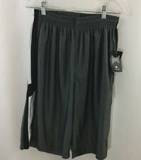 NEW Youth Boys Tapout Shorts L Gray  Drawstring Athletic Sweat pant  large