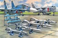 ICM 72212 - 1:72 Soviet Air-to-Air Aircraft Armament (R-27ER,R-27ET,R-73,R-77 mi
