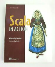Scala in Action Nilanjan Raychaudhuri Paperback Book 2013