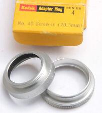 Kodak Series IV 4 43mm Threaded Screw-in Adapter Ring - USED X640