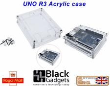 Arduino Uno R3 Acrylic Case Enclosure Shell Transparent Clear high quality U.K