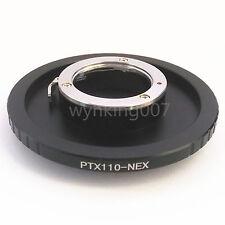 Pentax 110 Lens to Sony NEX E Mount Adapter NEX7 NEX5 NEX3 NEX6 A7 A7R a6000