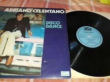 "Adriano Celentano Disco Dance LP 12 "" Vinyl - French import, G/G-VG"