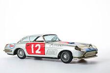 #Antique Tin Toy Bandai Japan Race Car Ferrari Rally Japanese Old Daiya Champio