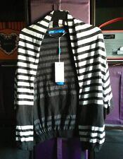 BNWT Grey & Black Striped Adidas Cardigan 12