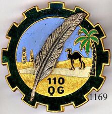 1169 - SAHARA - 110e Q.G.