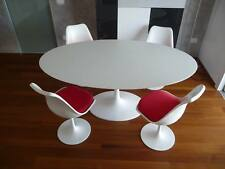 TAVOLO TULIP OVALE LAMINATO 140x80  LIQUIDO  SAARINEN TABLE MADE IN ITALY