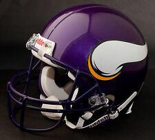 BRETT FAVRE Edition MINNESOTA VIKINGS Riddell REPLICA Football Helmet