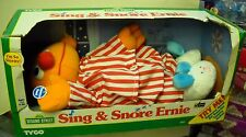 #2134 Nrfb Vintage Tyco Sesame Street Sing & Snore Ernie Doll