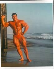 bodybuilder MILOS SARCEV Bodybuilding Color Muscle Photo